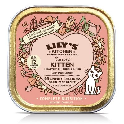 LILY'S KITCHEN KITTEN POLLO E RISO 85 g