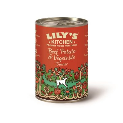 LILY'S KITCHEN MANZO E PATATE 400 g
