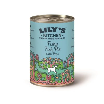 LILY'S KITCHEN TORTINO DI PESCE 400 g