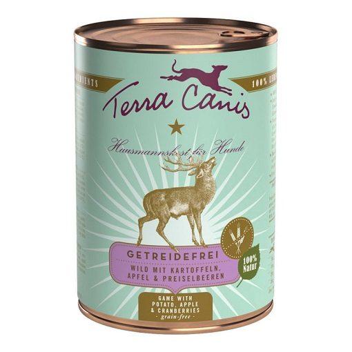 TERRA CANIS SELVAGGINA E PATATE GRAIN FREE 400 g