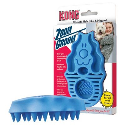 KONG ZOOMGROOM SPAZZOLA CANI