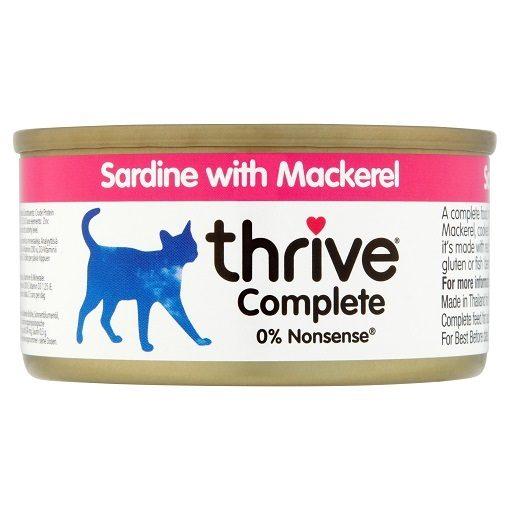 THRIVE SARDINE WITH MACKEREL 75 g