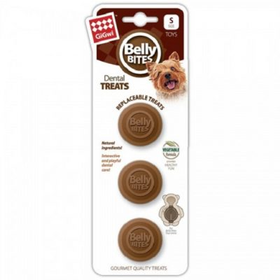 GIGwi BELLY BITES BEAR TREATS REFILL