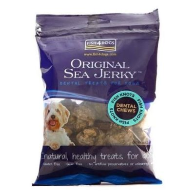 FISH4DOGS SEA JERKY FISH KNOTS 100 g