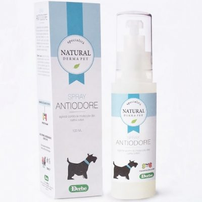 SPRAY ANTIODORE NATURAL PET DERBE 100 ml