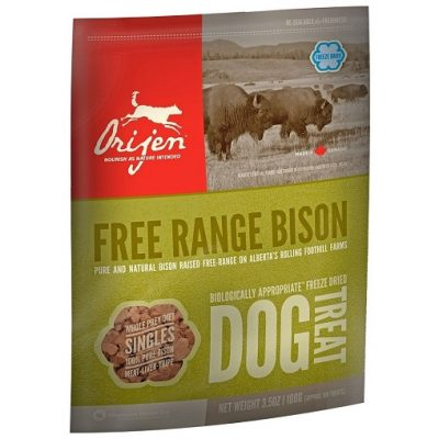 ORIJEN SNACK FREEZE DRIED BISON 56,7 g