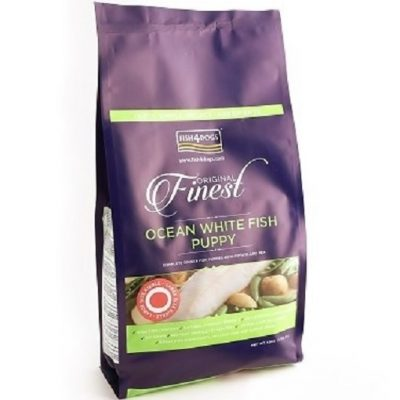 FISH4DOGS FINEST OCEAN WHITE FISH PUPPY LARGE 6 Kg